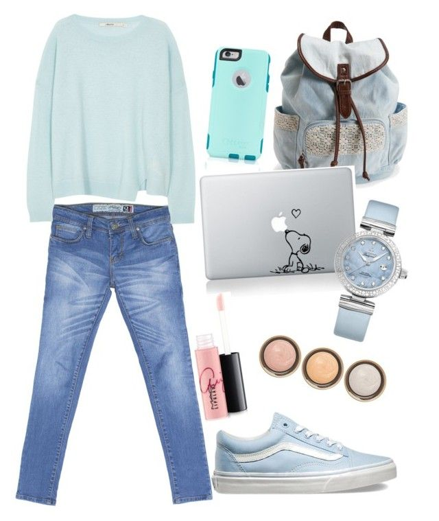 """""""Mint beauty with Turquoise Q Series Denim"""" by turquoisedenim on Polyvore featuring Aéropostale, J Brand, Vans, OtterBox, By Terry, OMEGA, MAC Cosmetics, women's clothing, women and female"""