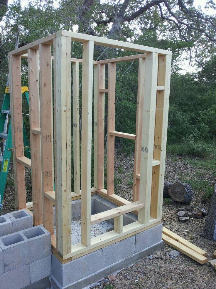 walk in smoke house   Smokehouse Build - 2CoolFishing