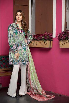 7b1d2a1c8b Gul Ahmed 2 Piece Summer Essential 2018 Custom Stitched Lawn Suit - TL-136 A