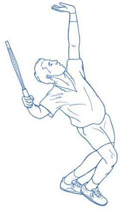 Aspecifieke lage rugklachten komen bij tennissers, evenals bij de doorsnee…