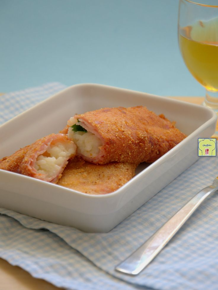 crocchette di prosciutto e riso