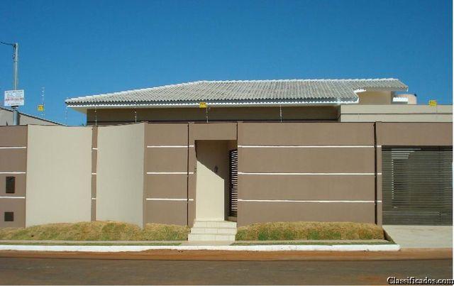 Muros e fachadas de casas simples pesquisa google for Google casas modernas