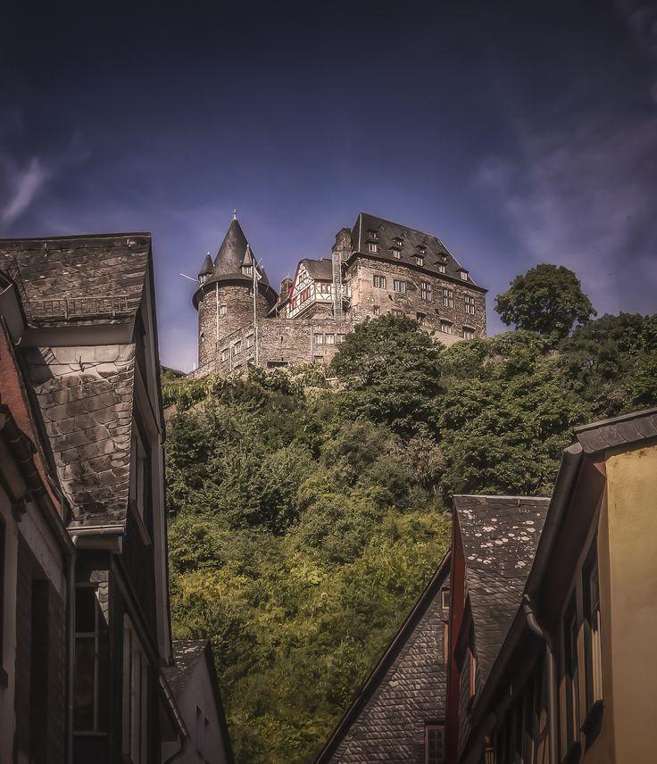 Burg Stahleck - The castle - Burg Stahleck - in Bacharach, Germany.