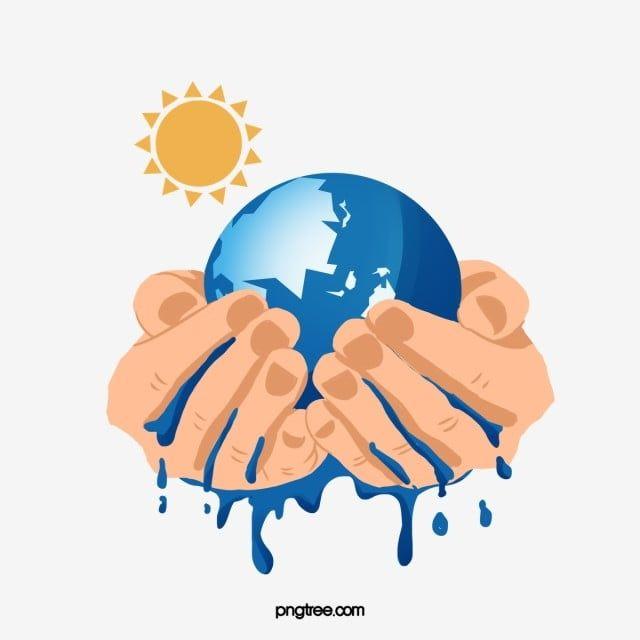 يد تمسك الأرض من أجل الاحتباس الحراري كلتا يديك احمل أرض Png وملف Psd للتحميل مجانا Global Warming Creative Illustration Earth Illustration
