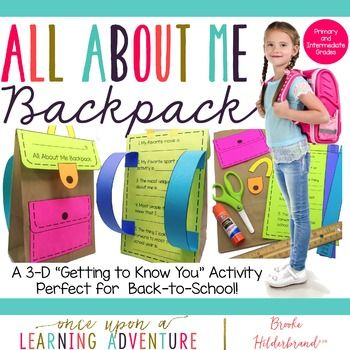 This super-cute paper backpack craft and learning activity is a great way to build community with your students! It also helps students…