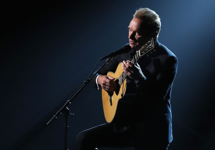 Watch Sting Perform 'The Empty Chair' at the 2017 Oscars  The song with music by J. Ralph was featured on the soundtrack of Jim: The James Foley Story a documentary which chronicles the story of American journalist James Foley who was captured and beheaded by ISIS.