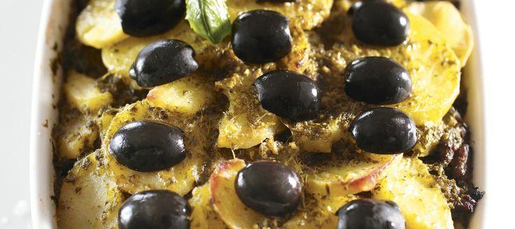 Pestoinen jauhelihalaatikko | Pääruoat | Reseptit – K-Ruoka