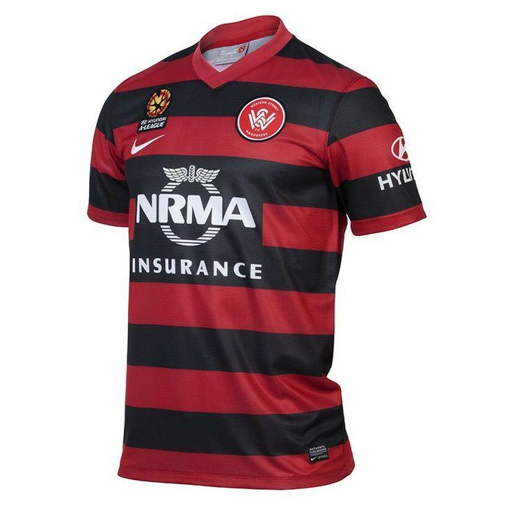 Western Sydney Wanderers FC 2013/14 Mens Home Jersey