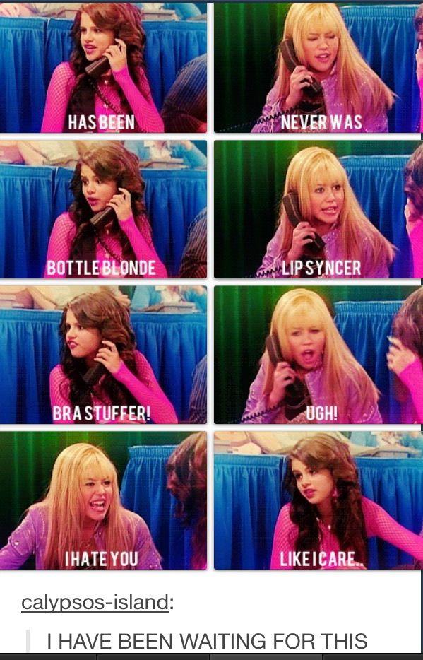 Yes. Team Hannah Montana all day !!