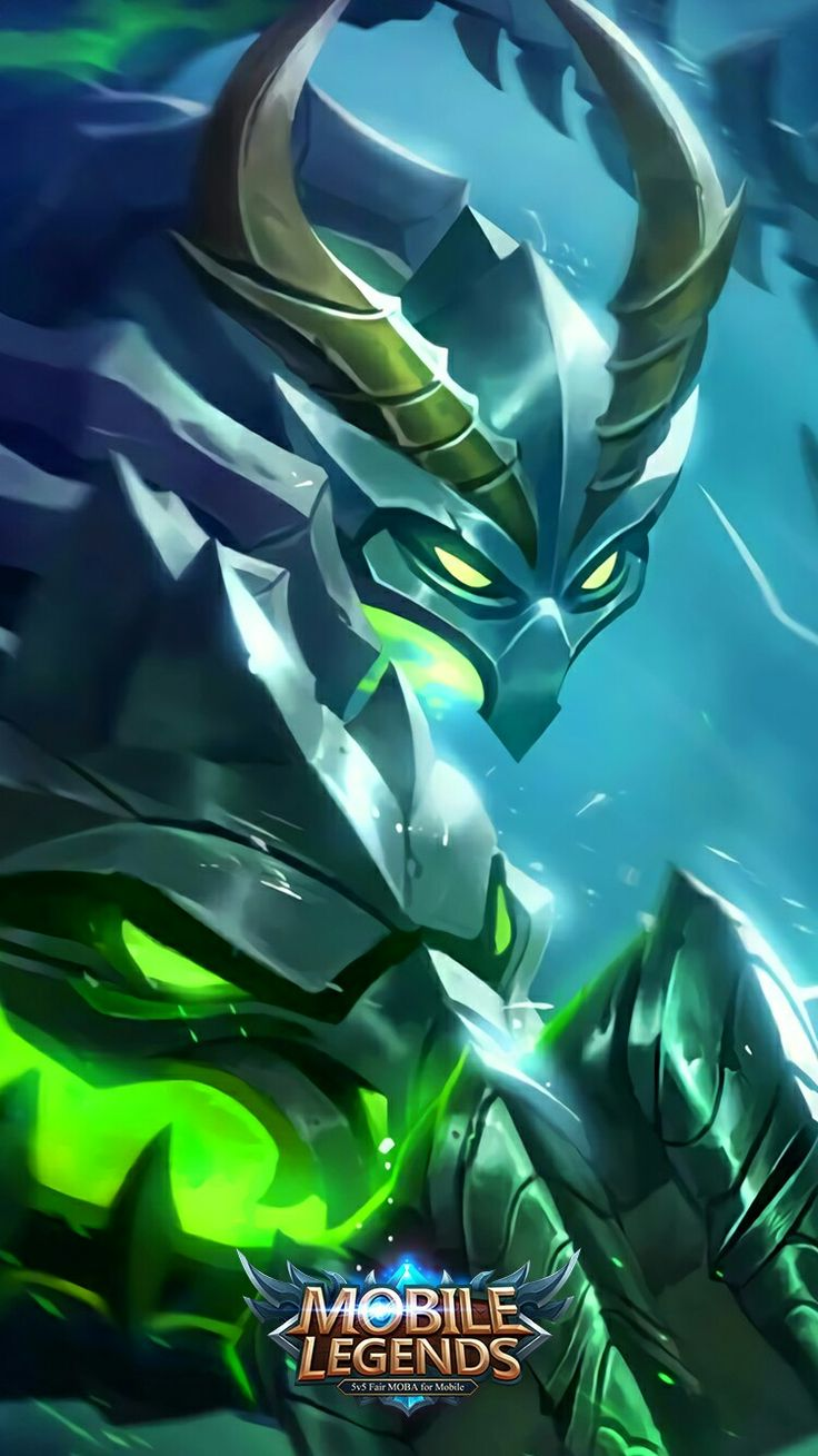 "Mobile legends - Moskov ""Spear of Bone Dragon"""
