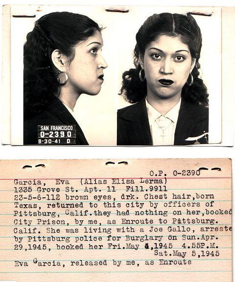 Best Vintage Mug Shot Images On Pinterest Old Pictures Black - 15 vintage bad girl mugshots from between the 1940s and 1960s