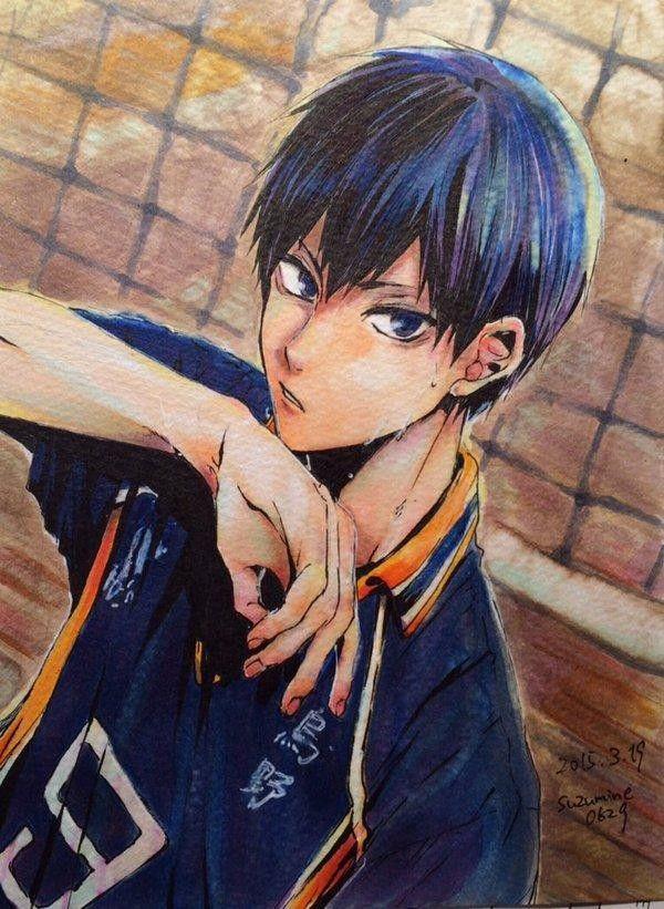 Tobio Kageyama Haikyuu #Fanart dessin de canayell0629