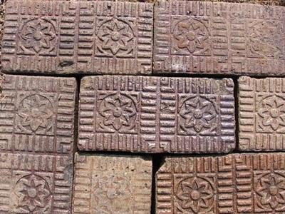 Star Bricks for sale at Black Dog Salvage, Roanoke Virginia