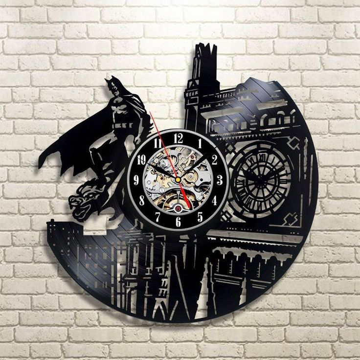 DARK KNIGHT WALL WATCH CLASSIC CLOCK