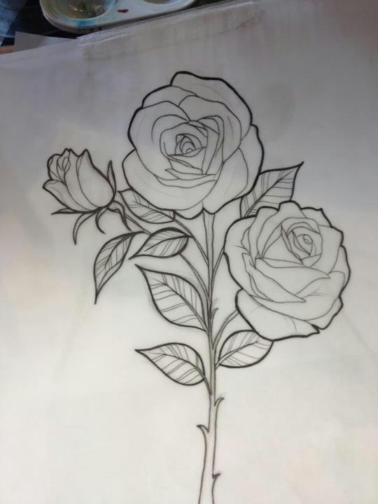 miss jo black rose sketch beautiful art pinterest beautiful flower and tat. Black Bedroom Furniture Sets. Home Design Ideas