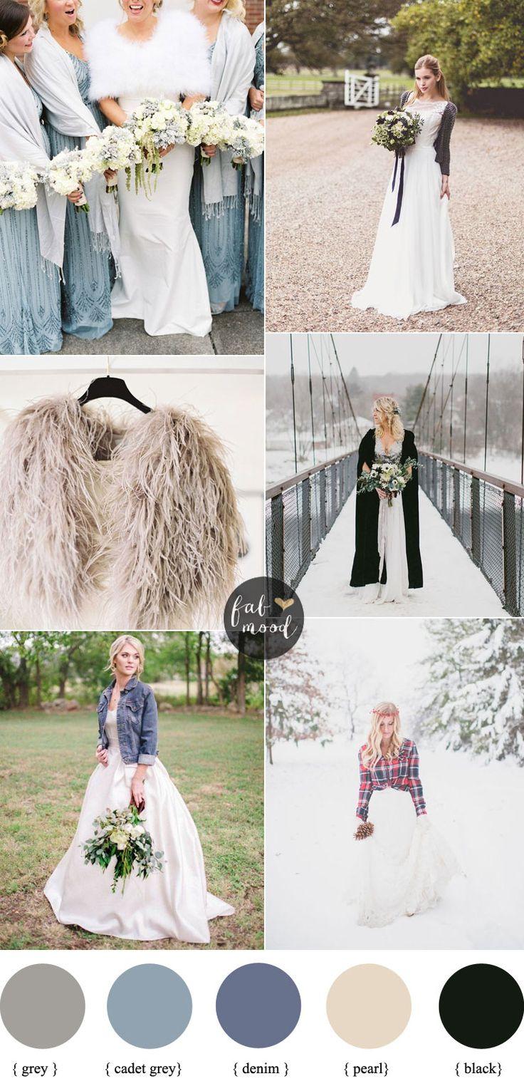 Bride and Bridesmaids cover up ideas | Wedding cover ups | fabmood.com