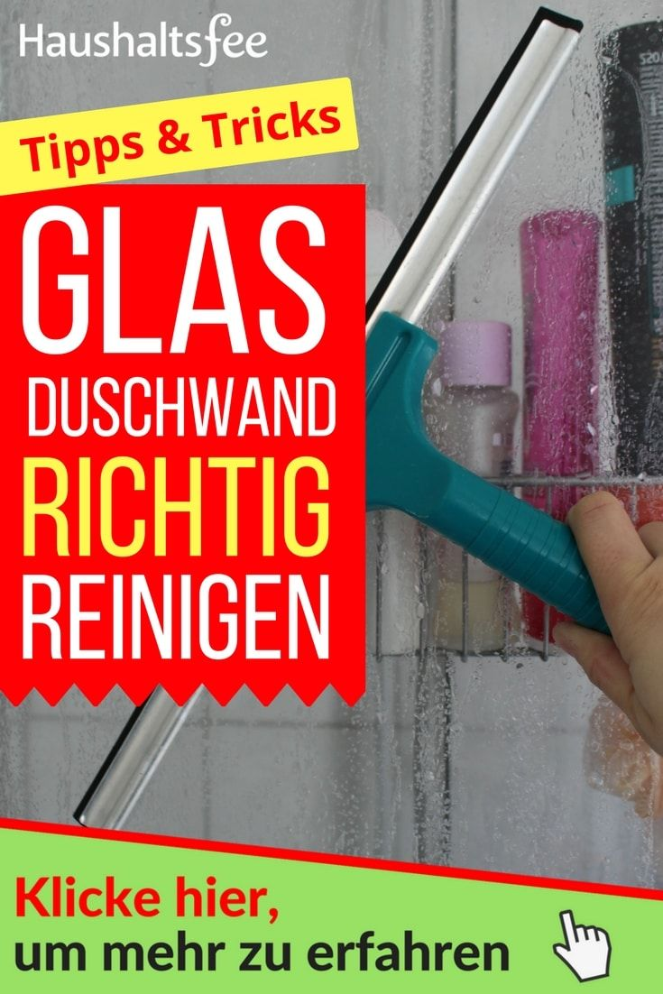 254 best backpulver im haushalt einsetzen images on pinterest - Duschwand reinigen ...