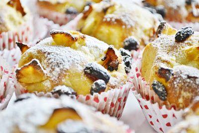 .. chute a vône mojej kuchyne...: Muffiny z kysnuteho cesta