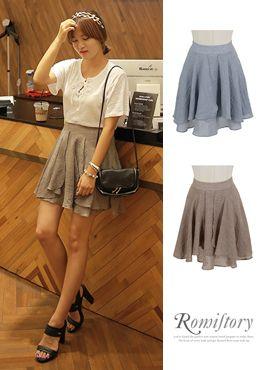 Today's Hot Pick :[Romi]カサネフリルフレアスカート http://fashionstylep.com/SFSELFAA0015037/romi00ajp/out フェミニン感たっぷりとしたフレアスカートです。 キレイな落ち感とソフトな素材感が心地よいスカートです。 夏にも涼しげな薄手素材を使用して、旬なオシャレを楽しめます。 インスタイリングのフェミカジ系やナチュカワ系のコーディネートにおすすめです。 ◆2色: ココア,スカイブルー