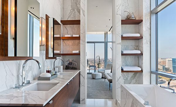 35 Shelves To Make Your Bathroom Pop (With Pictures)