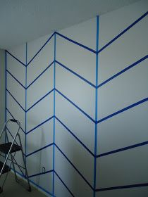 SUBURBAN Spunk*: New chevron Wall=New favorite thing
