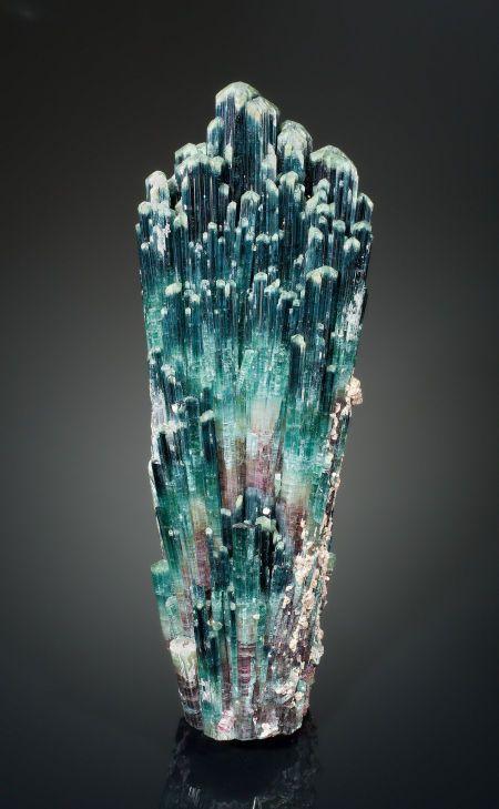 Minerals:Cabinet Specimens, TOURMALINE. Sapo Mine, Ferruginha, Conselheiro Pena, DoceValley, Minas Gerais, Brazil. ... Image #1