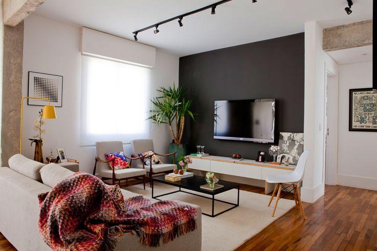 Apartamento contempor neo e pr tico interiores for Apartamentos interiores contemporaneos