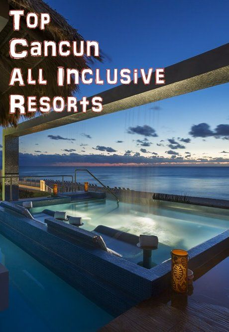Cancun Mexico All Inclusive Vacation Resorts Bucket List: Dreams  Sands Cancun Resort & Spa    http://www.luxury-resort-bliss.com/cancun-all-inclusive-resorts.html