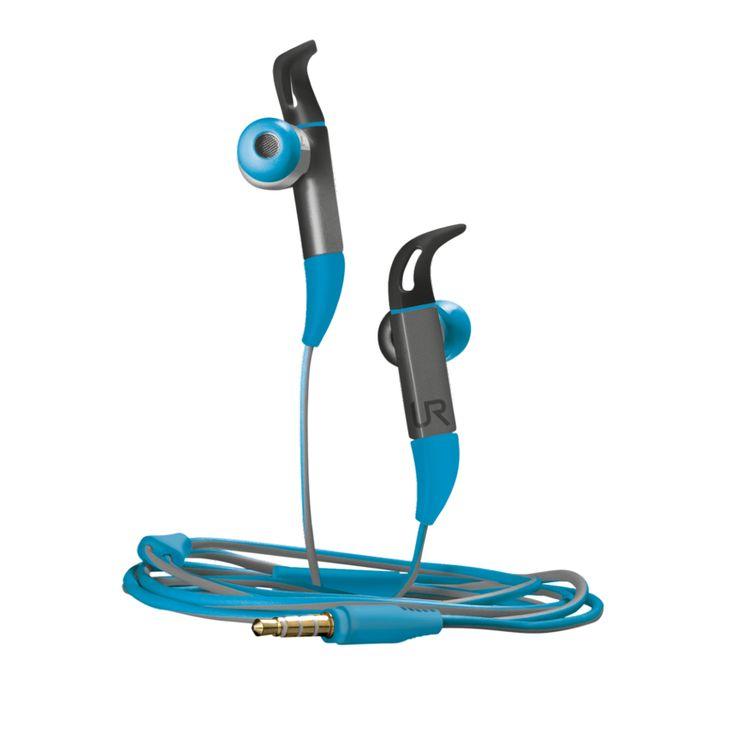 www.trust.com - #20321 - fit in-ear sports headphones - blue