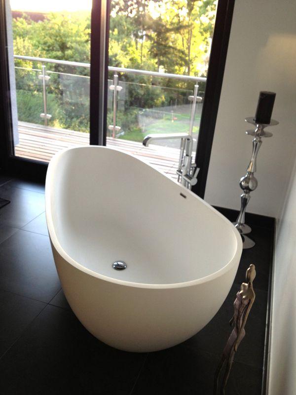 die besten 25+ freistehende badewanne ideen auf pinterest - Bw Kleines Bad Dusche Wandverkleidung Ideen