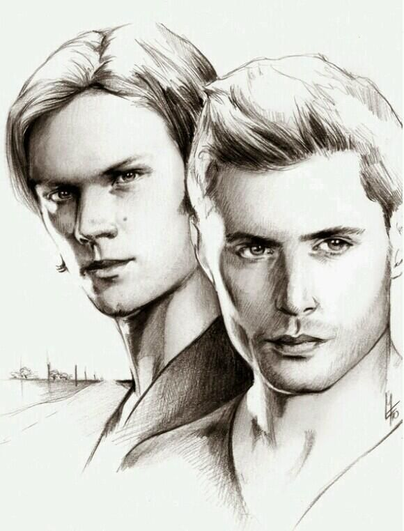 Sketchesofsam Sssh Critical Role Is: 17 Best Images About Supernatural Fan Art On Pinterest