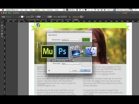 How to Create Buttons in Photoshop and Adobe Muse - Tuts+ Web Design Tutorial