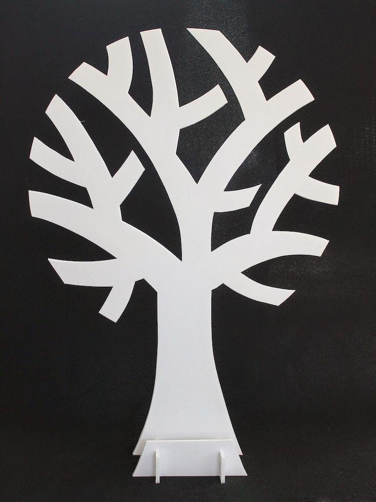 Wensboom maken   draadenpapier   Gratis patroon