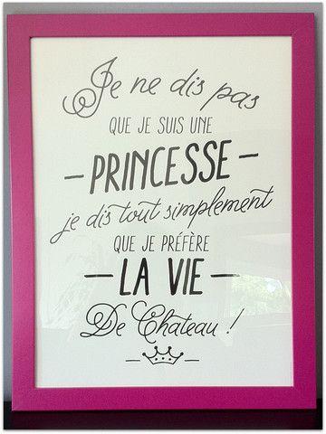 Affiche Princesse