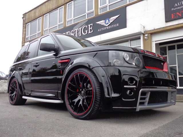 Low Price Land Rover Range Rover Sport 2.7 TDV6 HSE AP CUSTOMS ST3 RED LABEL WIDE BODY EDITION, 2005, £25,490, Bradford