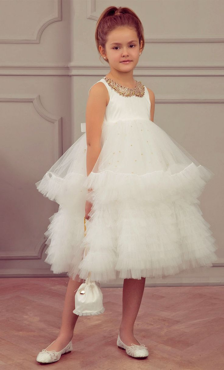 ALALOSHA: VOGUE ENFANTS: Must Have of the Day SS'18: An exquisite choice for girls by Junona