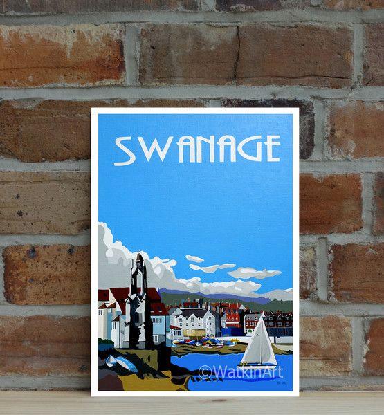 Swanage Print