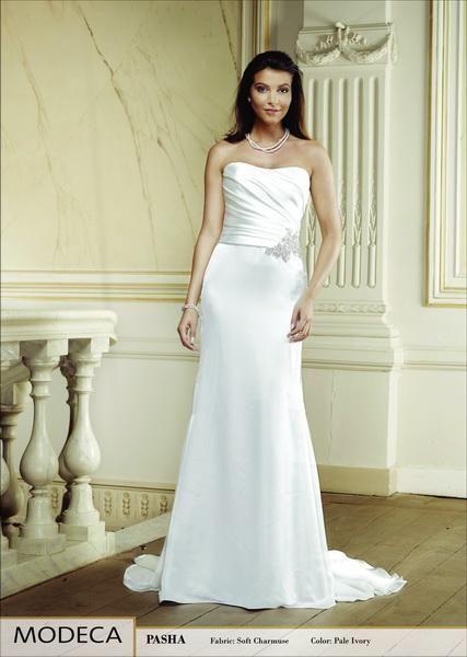 Igen Szalon Modeca wedding dress -Pasha #igenszalon #Modeca #weddingdress #bridalgown #eskuvoiruha #menyasszonyiruha #eskuvo #menyasszony #Budapest