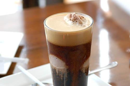 a stout with cinnamon ice cream.yum