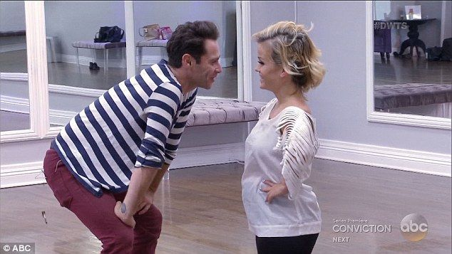 Struggles: Terra Jolé, the first little person to appear on DWTS, also had a tough time in rehearsals with her pro Sasha Farber