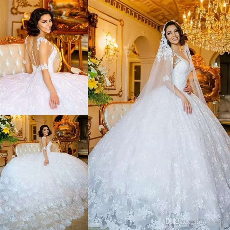 146 best Ball Gown Wedding Dresses images on Pinterest | Short ...
