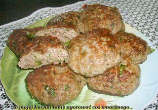 W Mojej Kuchni Lubię..: mielone z pieczarkami z solą prowansalską i papryk...