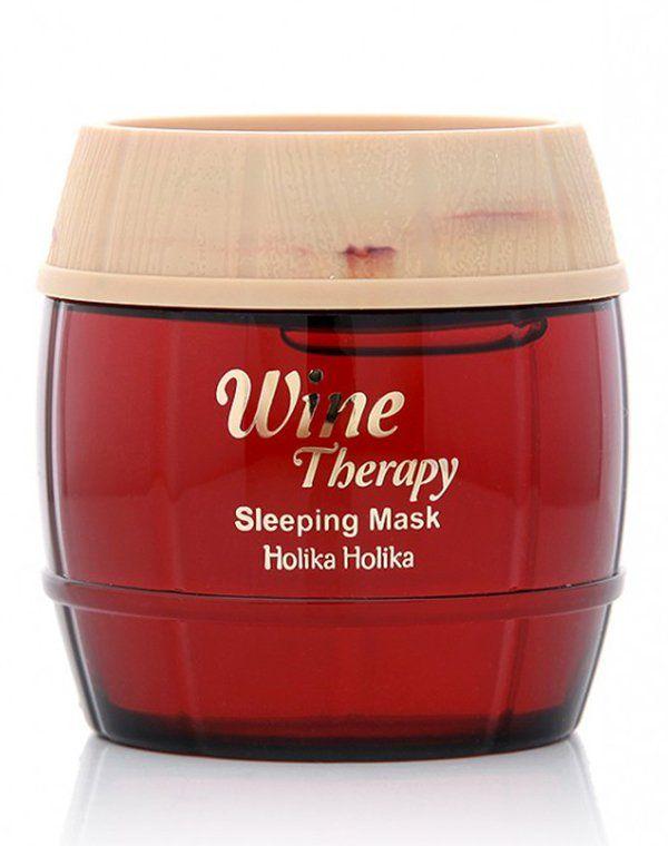 Ночная винная  маска-желе красное вино, Holika Holika купить от 1249 руб в Созвездии красоты