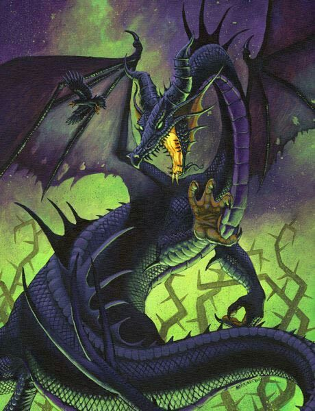 Maleficent dragon  Hogwarts motto  Draco dormiens nunquam titillandus - Never tickle a sleeping dragon.