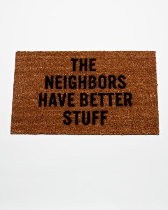 Clever doormatArrows, Charms, Curator Design, Design Club, Anti Theft Doors, American Design, Doors Mats, Defensemat, Reed Wilson