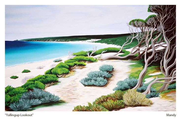 WIN A FREE LIMITED EDITION PRINT OF YALLINGUP LOOKOUT - PRIZE DRAWN ON WEDNESDAY2ND MARCH 2017 -   ENTER NOW