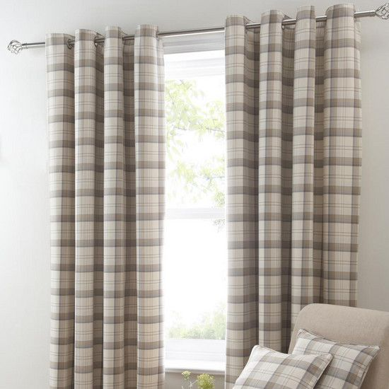 Ochre Balmoral Curtain Collection | Dunelm