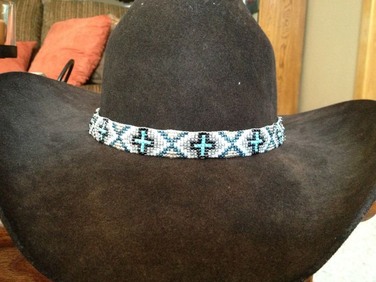 A personal favorite from my Etsy shop https://www.etsy.com/listing/119300576/western-beaded-cowboy-hat-band
