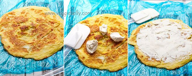 cream-cheese-on-omelette-for-roulade