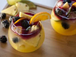 Tequila Sangria, via cooking channel
